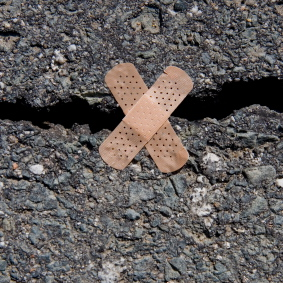 Cracked-Road