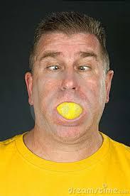 lemon adult mouth