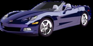 Sports car.blue