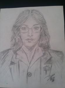 1980.Self portrait