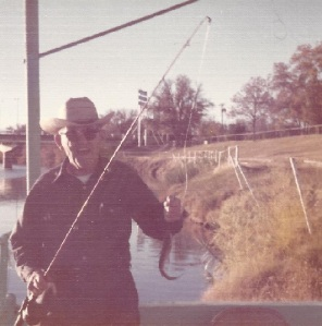 grandpa frank morrow fishing