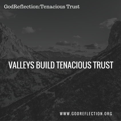 Valleys Build Tenacious Trust